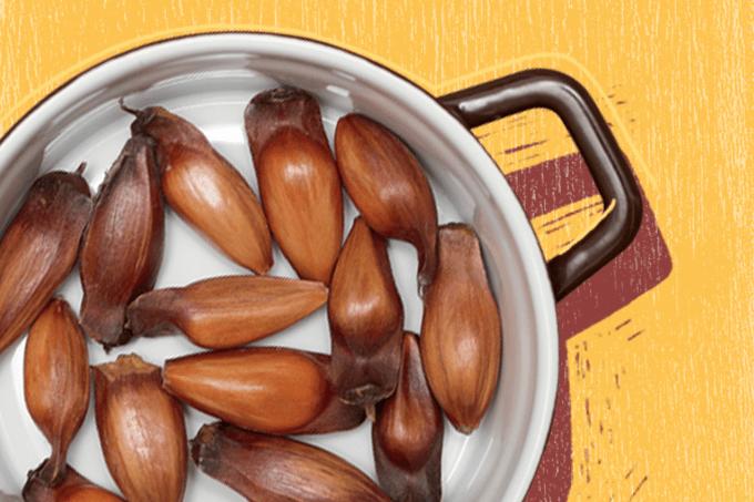 Como comer pinhão: receita saudável