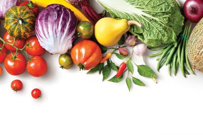 Alimentos orgânicos: consumo está crescendo.