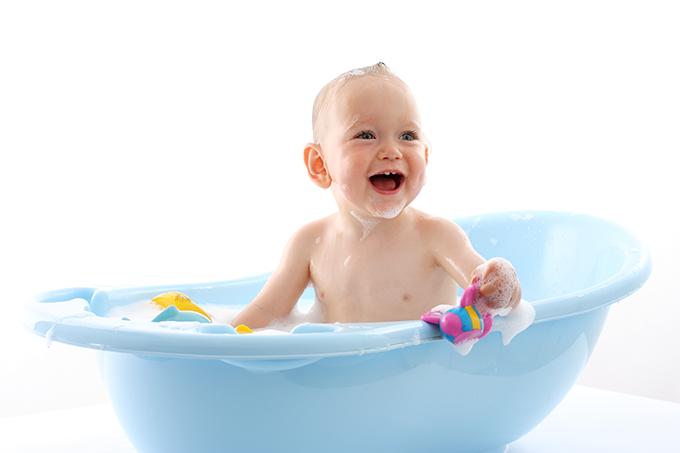 Dúvidas sobre o banho em crianças