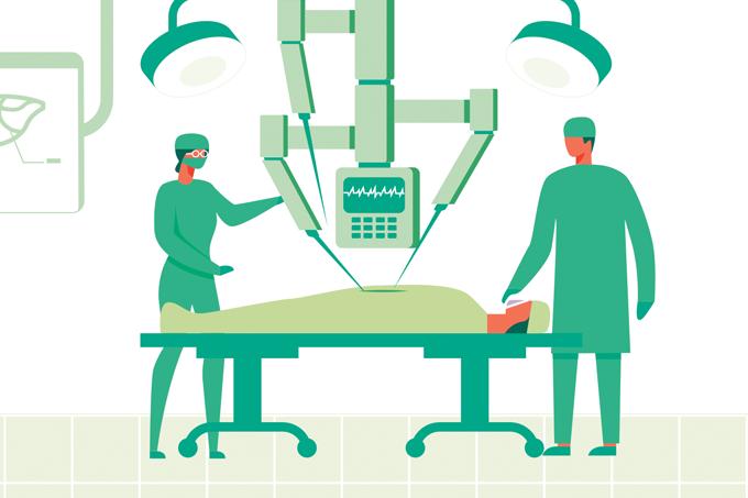 Como funciona uma cirurgia robótica?