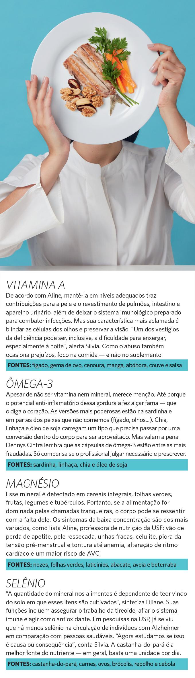 Desnutrição - nutrientes