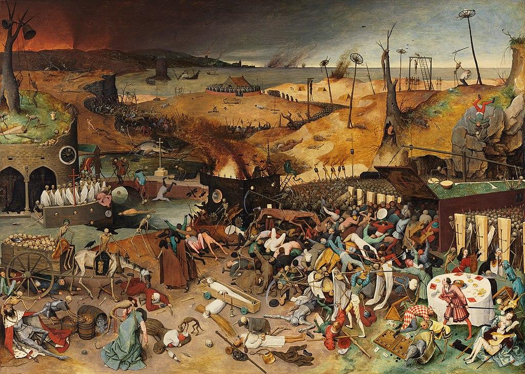 O Triunfo da Morte, do holandês Pieter Bruegel
