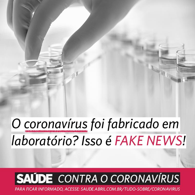 O coronavírus foi fabricado em laboratório? Isso é fake news