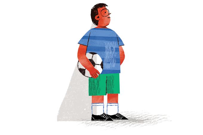 Crianças devem cabecear a bola no futebol?