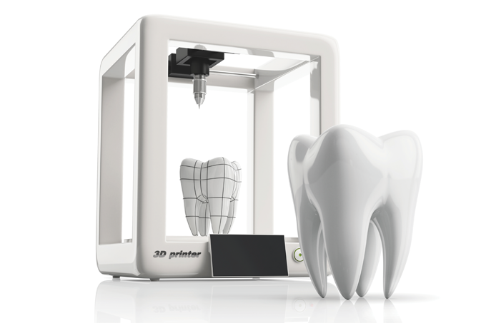Impressão 3D para criar ossos