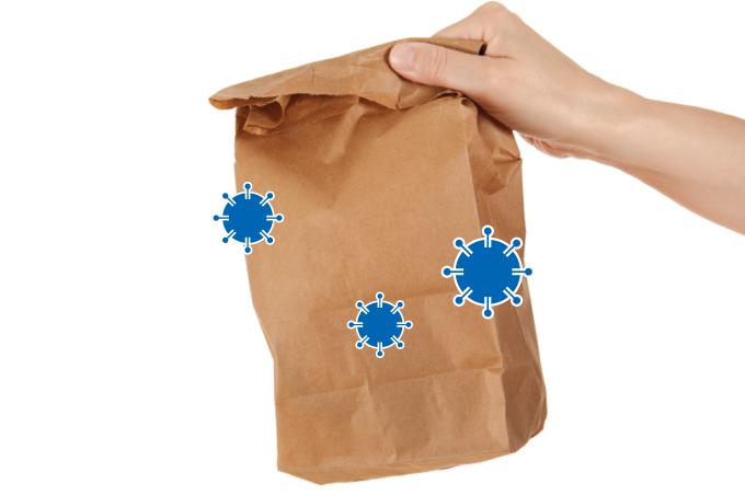 Dá para pedir delivery na pandemia numa boa