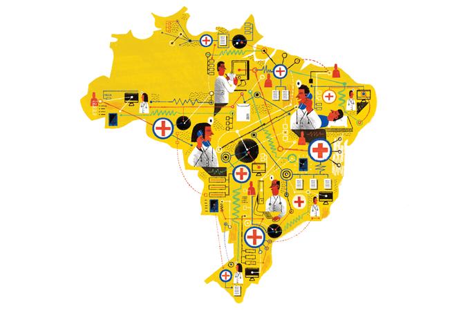 Casos de morte por coronavírus no Brasil