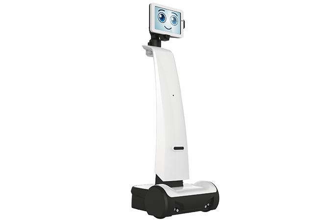 Robô aumenta a interação no hospital