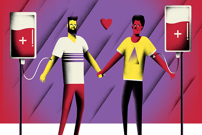 Homossexuais podem doar sangue com segurança e sem preconceito