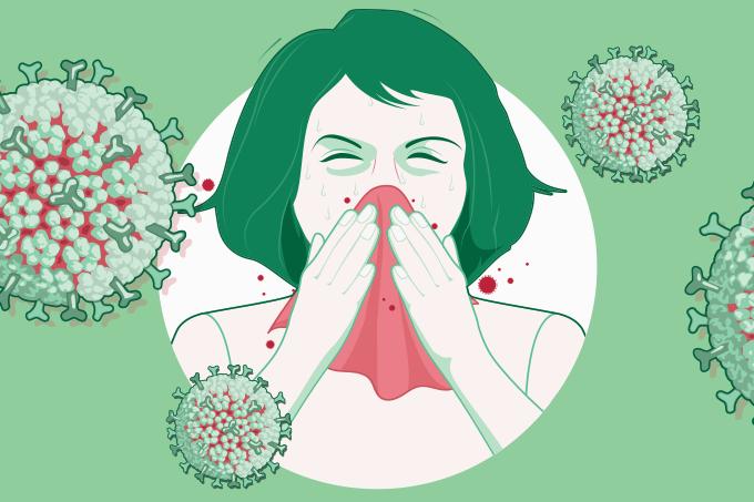 A transmissão do coronavírus