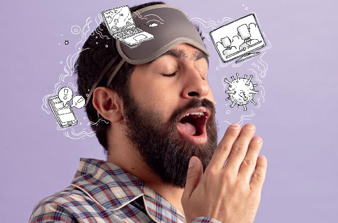 Como você classifica a qualidade de seu sono desde que a pandemia começou?