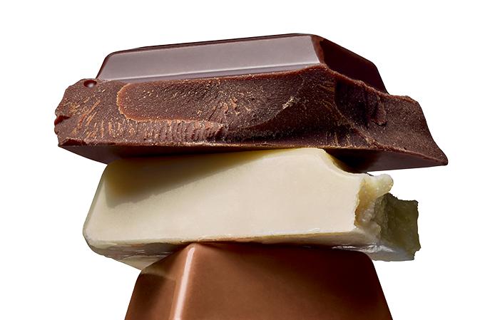 Na medida, chocolate faz bem