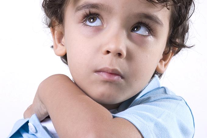 Sintomas de ansiedade em crianças
