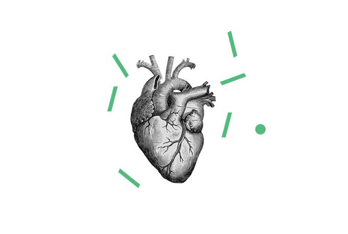 ilustração do coração