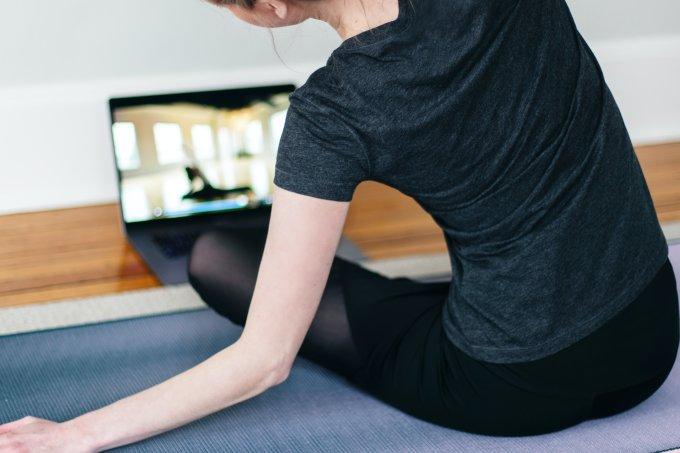 Exercício em casa online