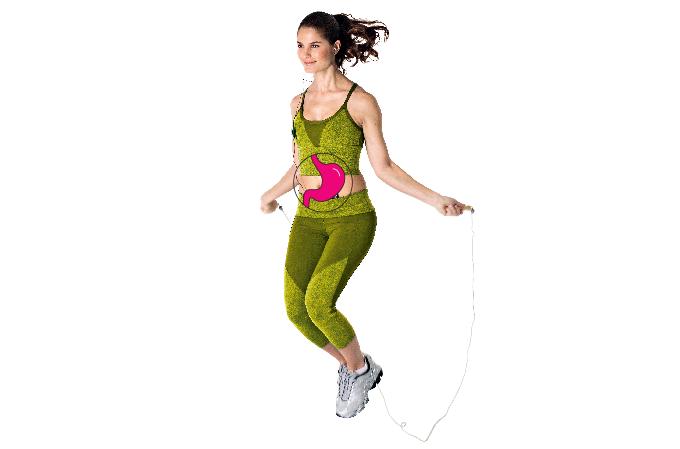 Exercício para evitar refluxo