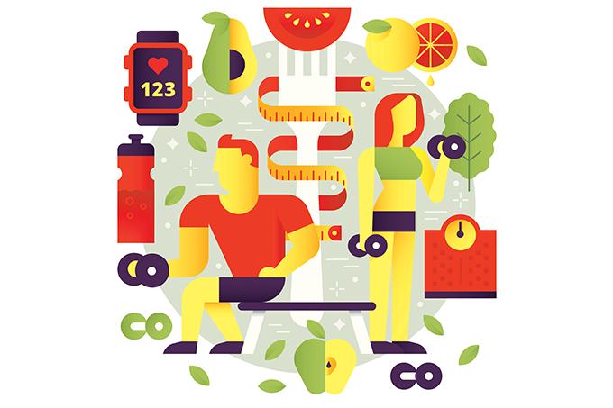 tendências alimentação