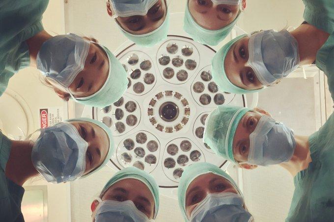 Paciente internado com Covid