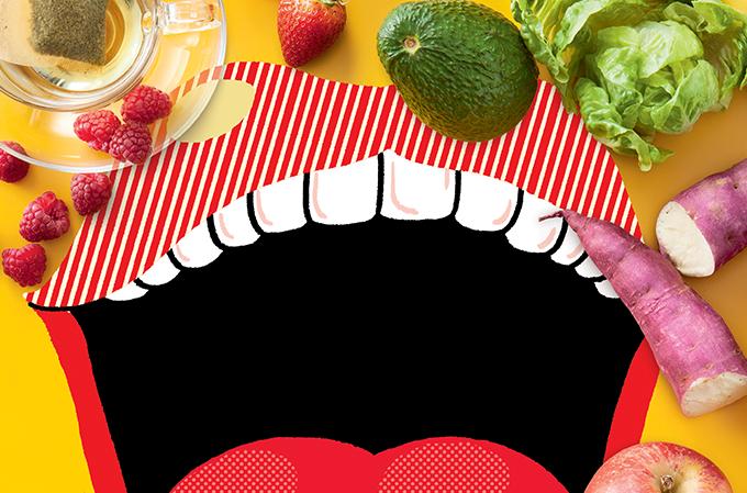Saúde bucal e alimentação