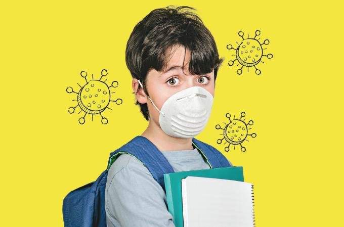 Escola abertas na pandemia