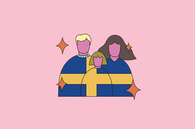 Família sueca