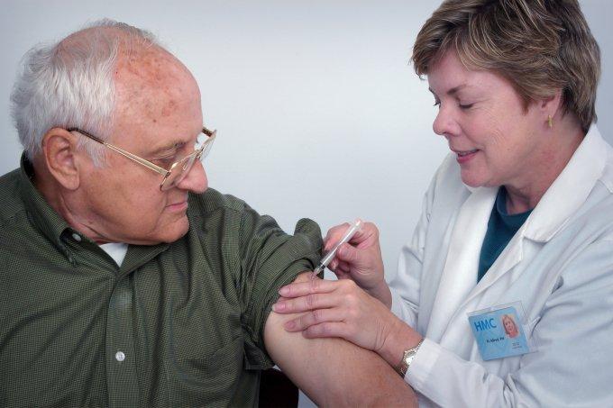 Vacina para gripe em idosos