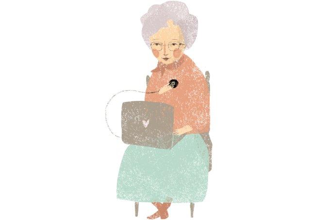 idoso e tecnologia