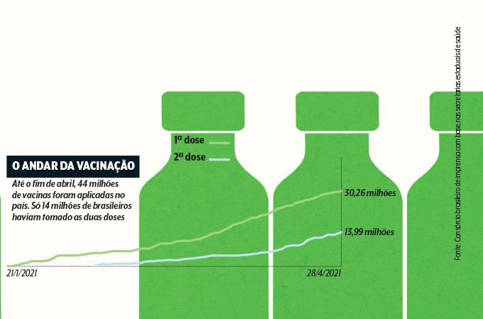 gráfico de vacinação no brasil