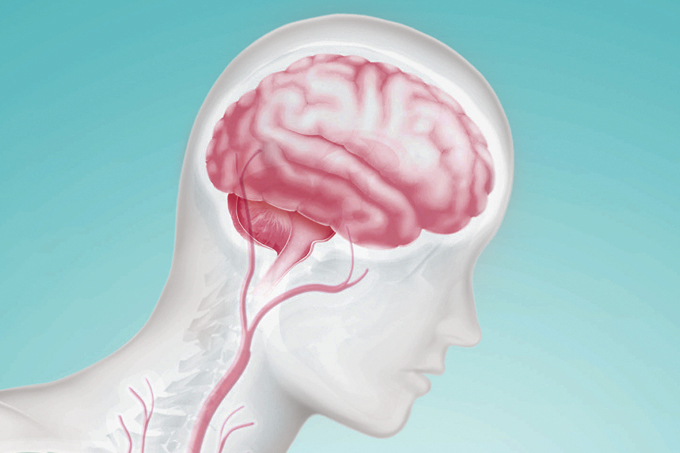 coronavírus no cérebro