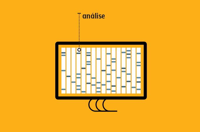 ilustração de tela de computador