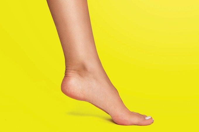 treino para os pés