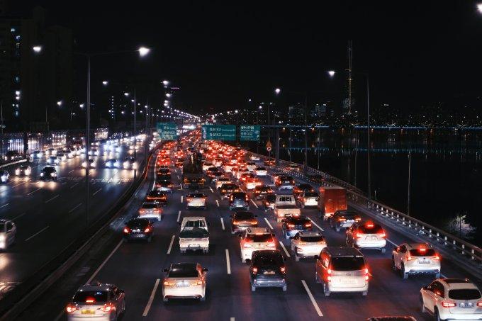 riscos do trânsito