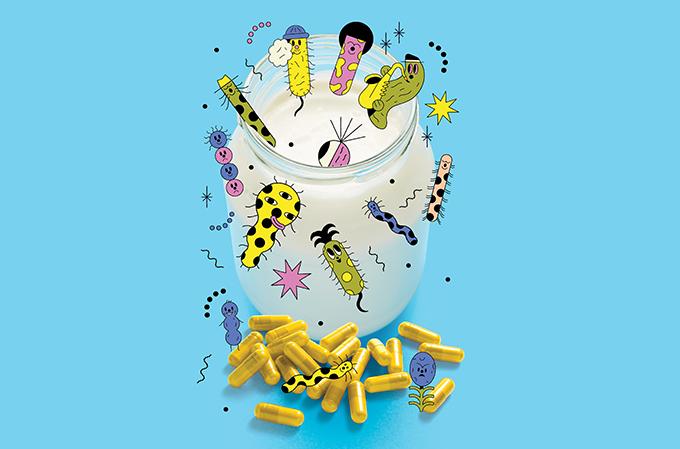 alimentos ricos em probióticos